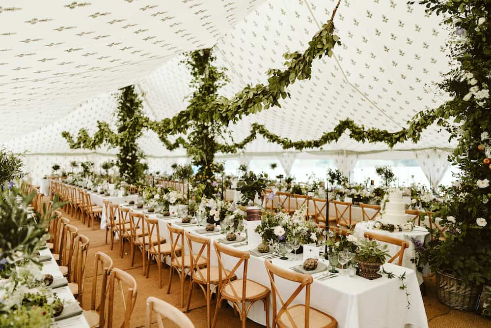 Grand Pole | Marquee Hire Somerset Dorset | Apex Marquees10