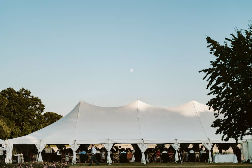 Grand Pole | Marquee Hire Somerset Dorset | Apex Marquees13