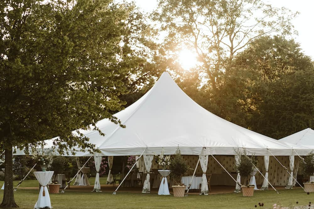 Grand Pole | Marquee Hire Somerset Dorset | Apex Marquees14