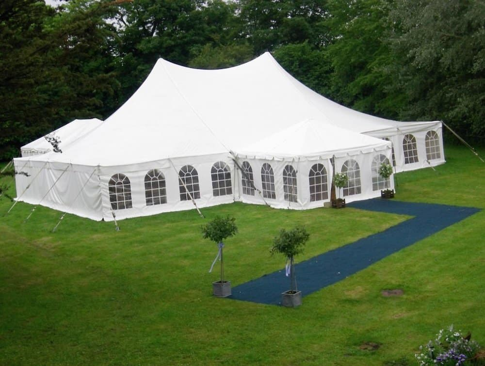 Grand Pole | Marquee Hire Somerset Dorset | Apex Marquees2