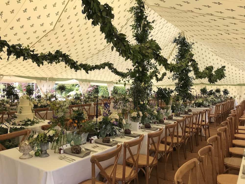 Grand Pole | Marquee Hire Somerset Dorset | Apex Marquees23