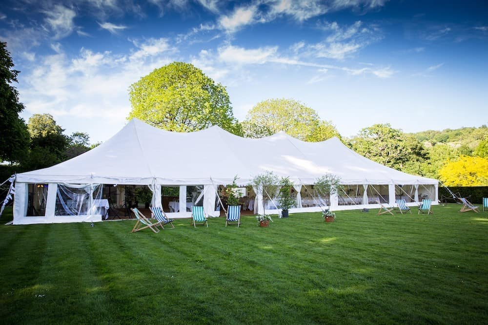 Grand Pole | Marquee Hire Somerset Dorset | Apex Marquees25