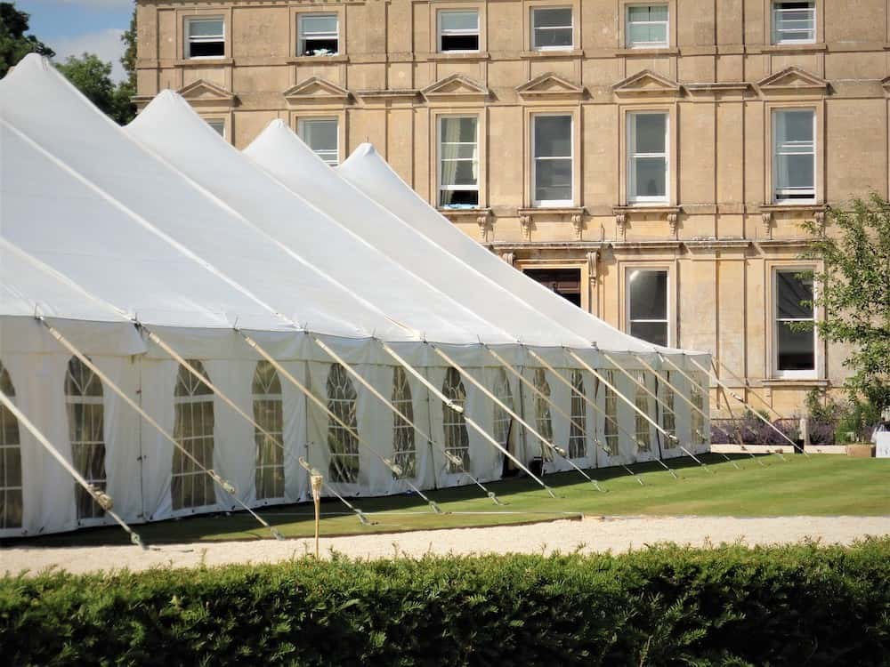 Grand Pole | Marquee Hire Somerset Dorset | Apex Marquees3