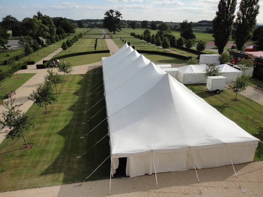 Grand Pole | Marquee Hire Somerset Dorset | Apex Marquees4